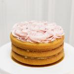 tarta sin gluten frambuesa y limón