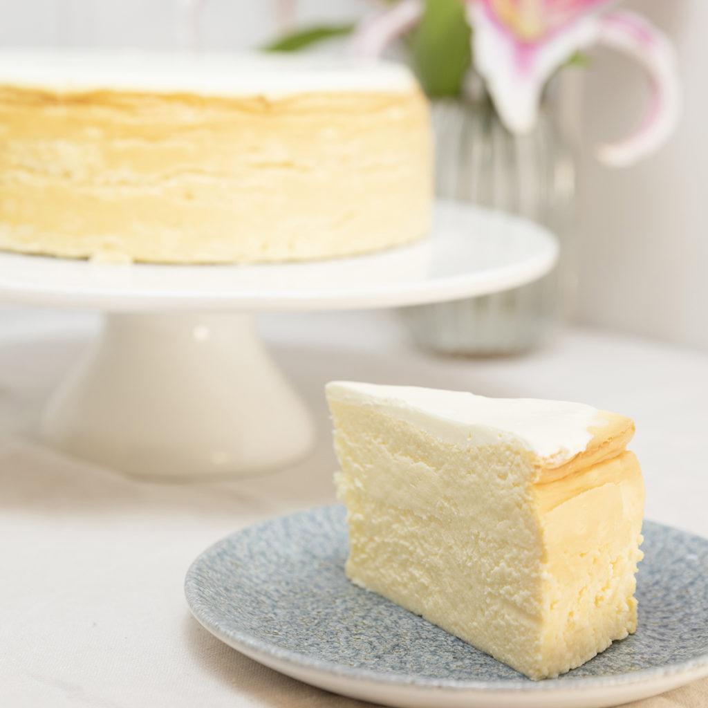 Tarta de queso cumpleaños sin gluten