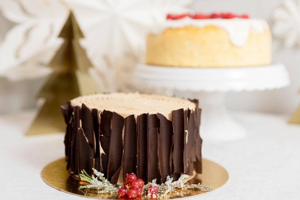 Tartas sin gluten de Navidad