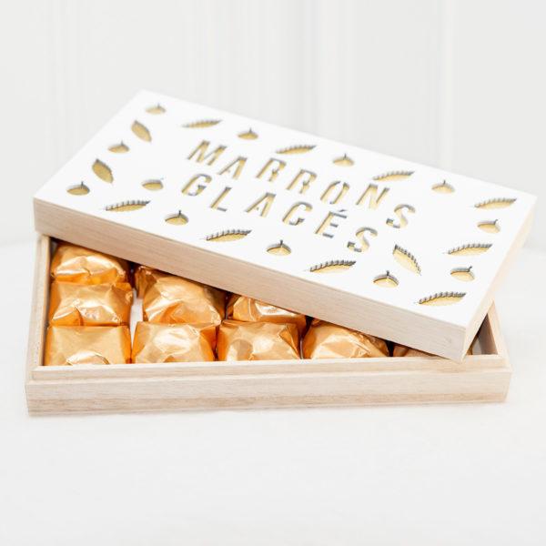 Caja de marrons Glaces