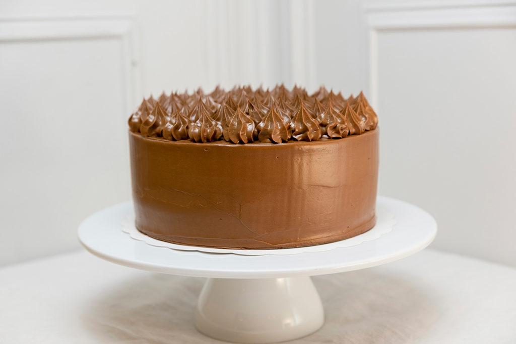Tartas de cumpleaños doble chocolate