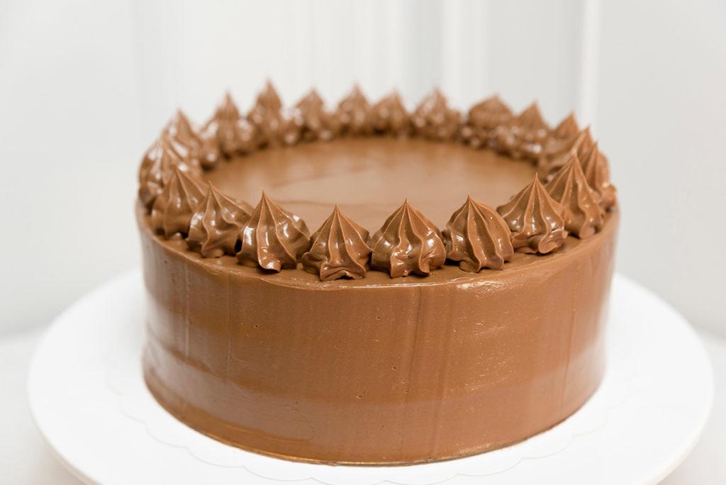 tarta de Cumpleaños chocolate