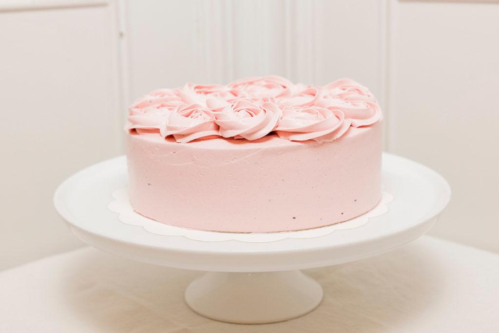 Tarta de cumpleaños decorada