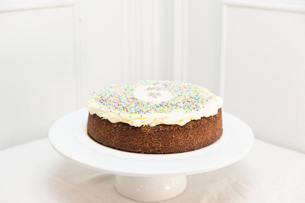 Tarta sin gluten cumpleaños