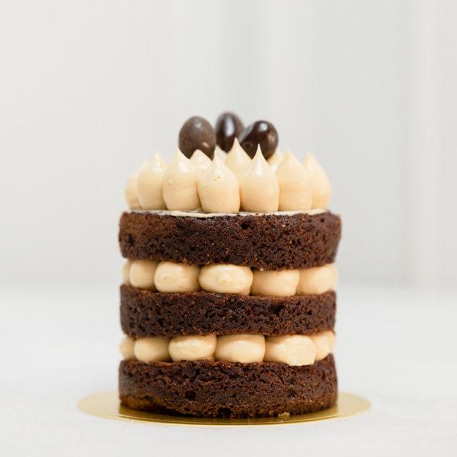 Pastel favorito de Chocolate y Cacahuete