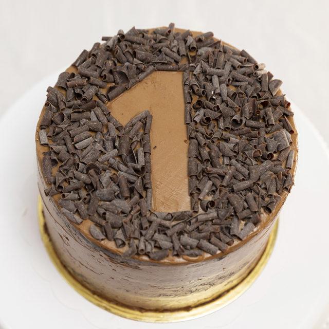 Tarta chocolate decoración número 1