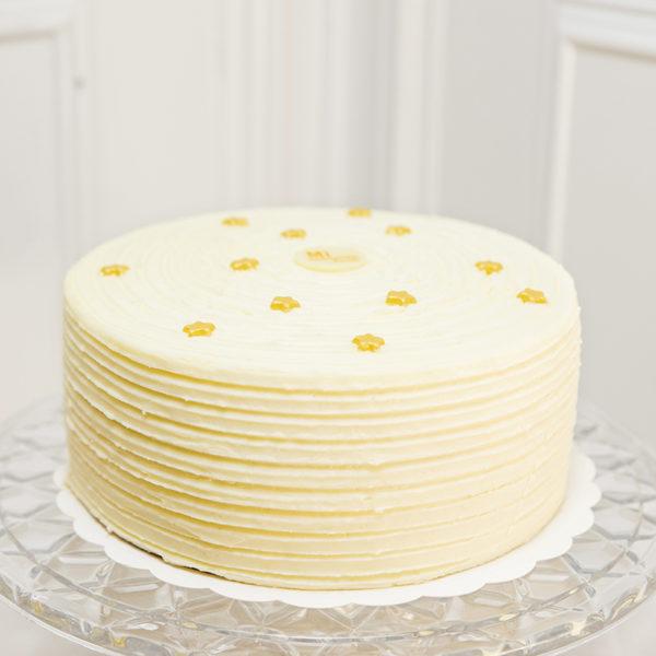 Carrot cake crema de queso y estrellas