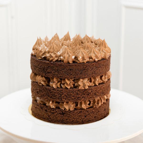 Tarta de Chocolate doble sin Gluten