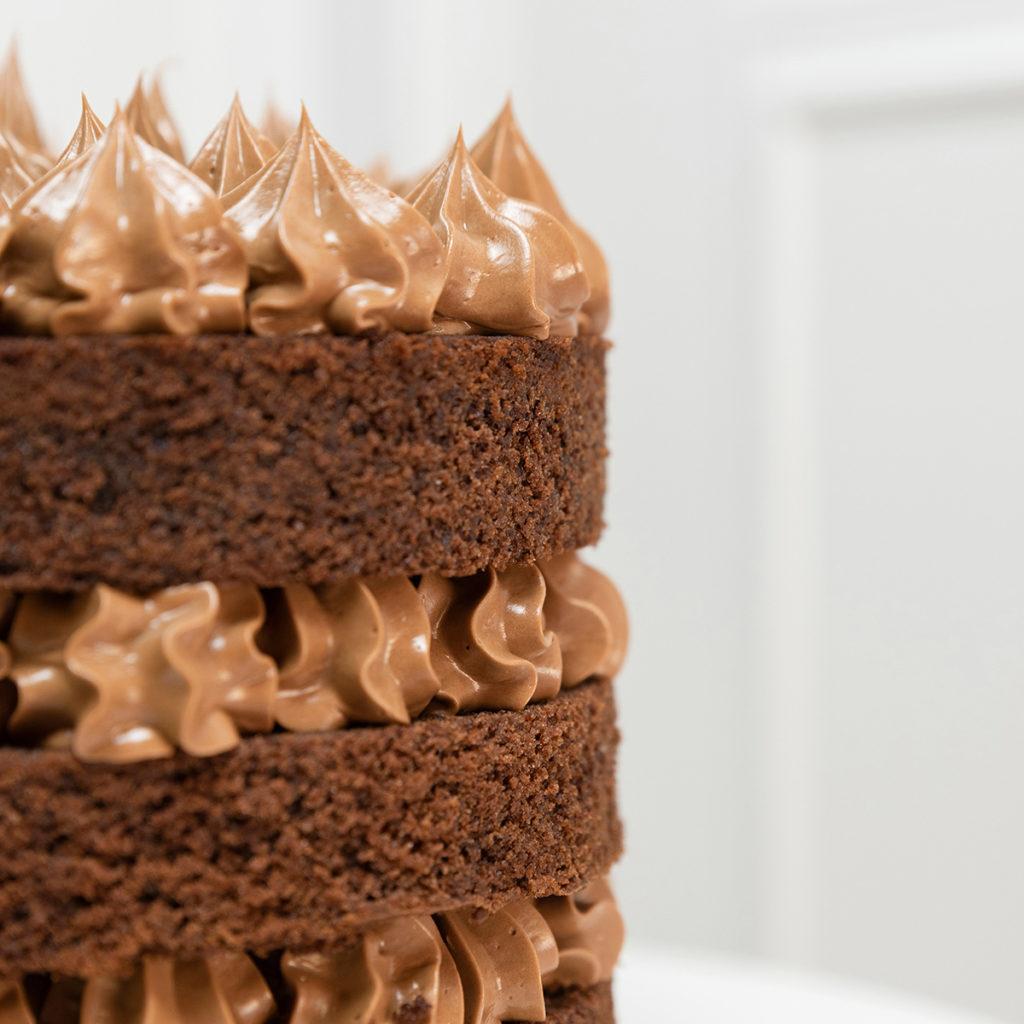 Tarta sin gluten chocolate