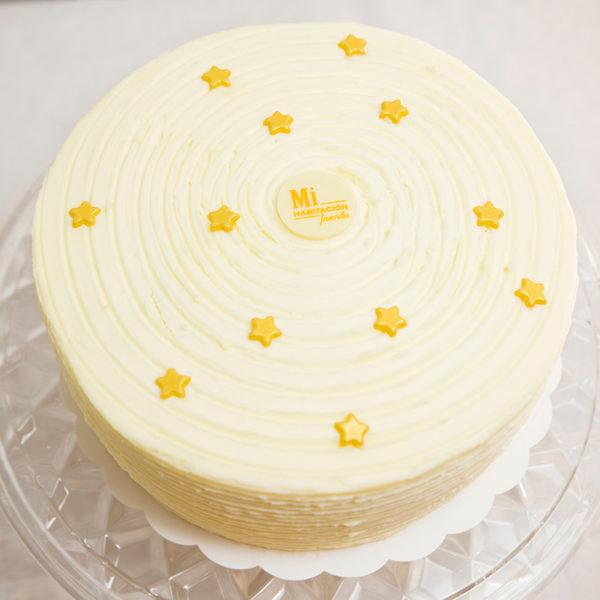 súper tarta de Zanahoria con estrellas