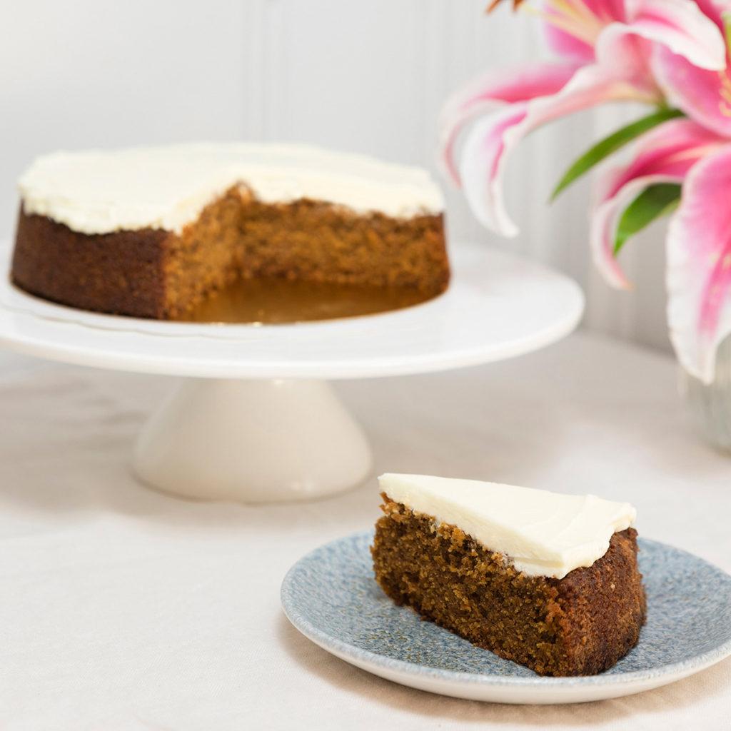 porción tartas sin gluten