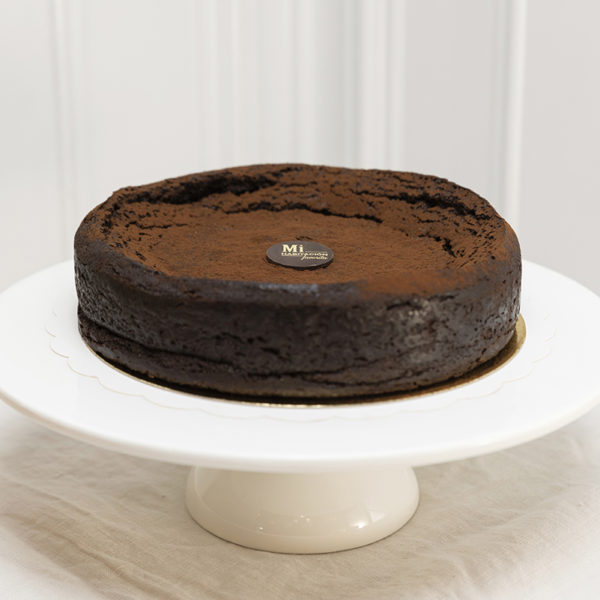 Tarta de chocolate y cafe