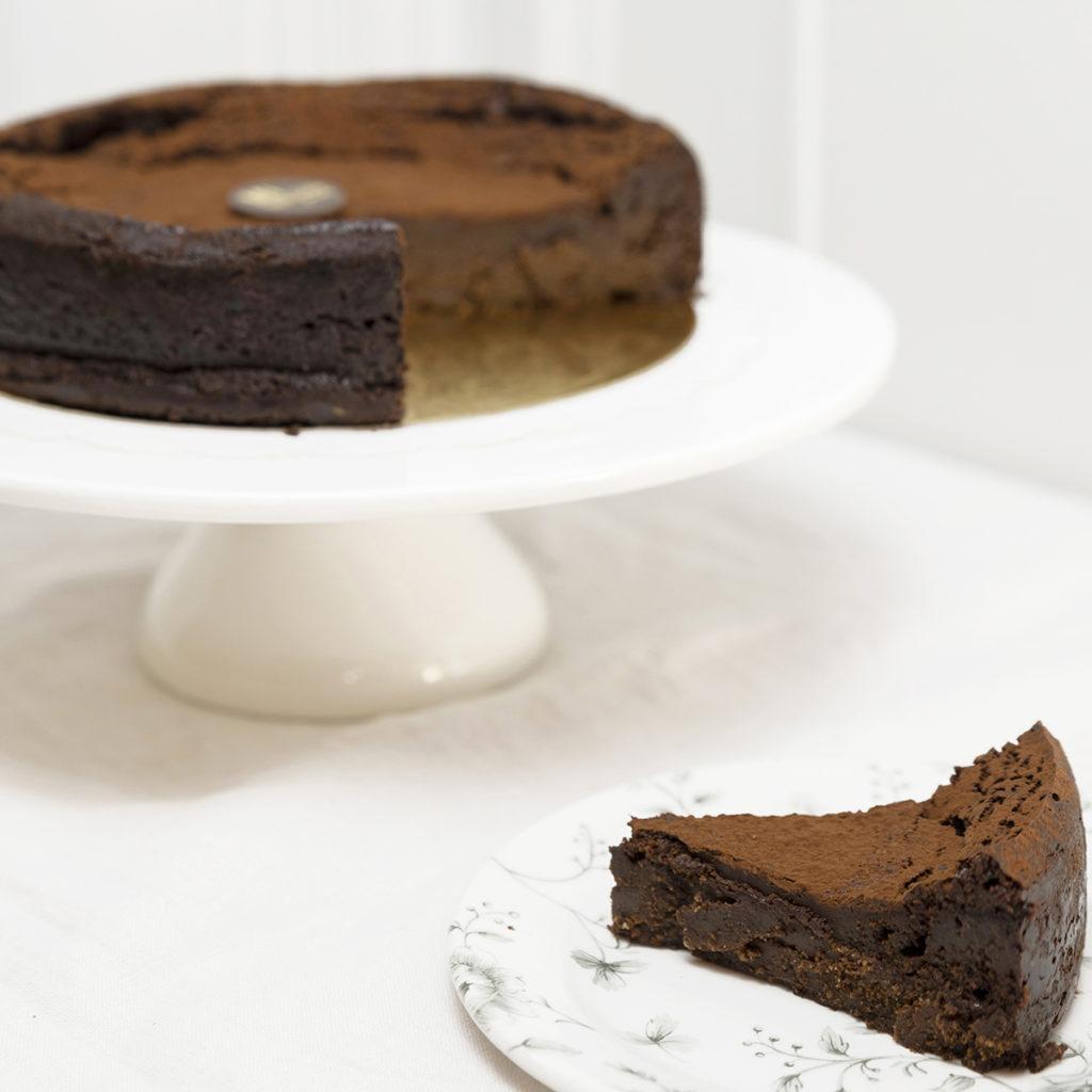 tarta chocolate porción