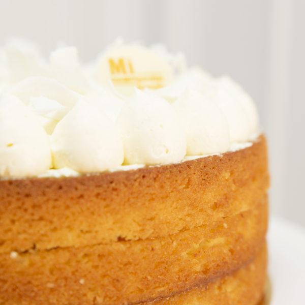tarta de coco detalle decoración
