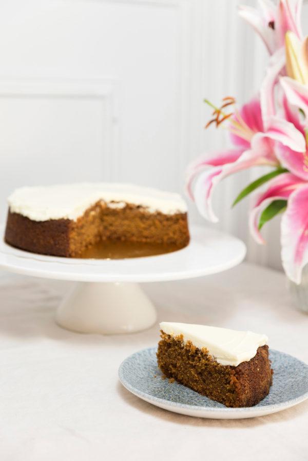 Carrot Cake Sin Gluten y Sin Lactosa