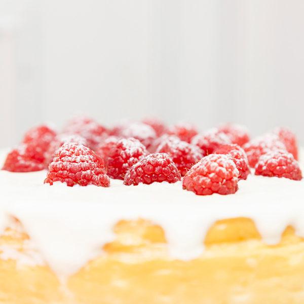 Tarta de Queso Sin Gluten frutos rojos