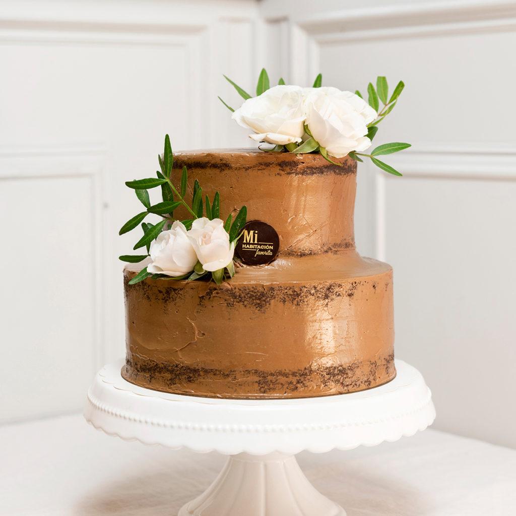 Tarta de Chocolate Sin Gluten para Bodas, bautizos y Comuniones