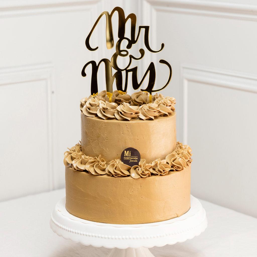 Tarta de Chocolate y Café Sin Gluten para Bodas, bautizos y Comuniones