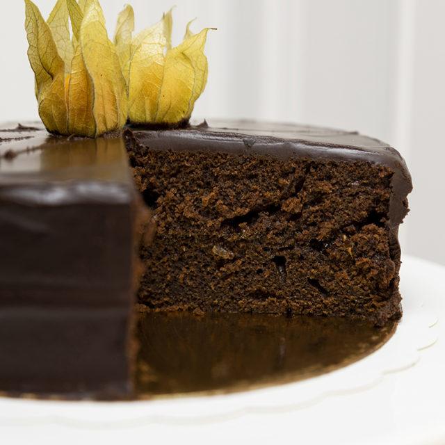 Tarta vegana chocolate y Gran Tatita