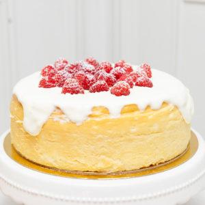 Tarta de queso cumpleaños