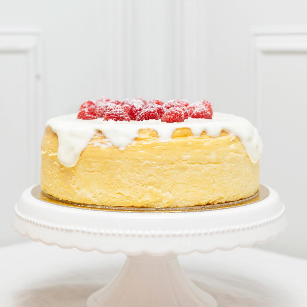 Tarta de queso cheesecake