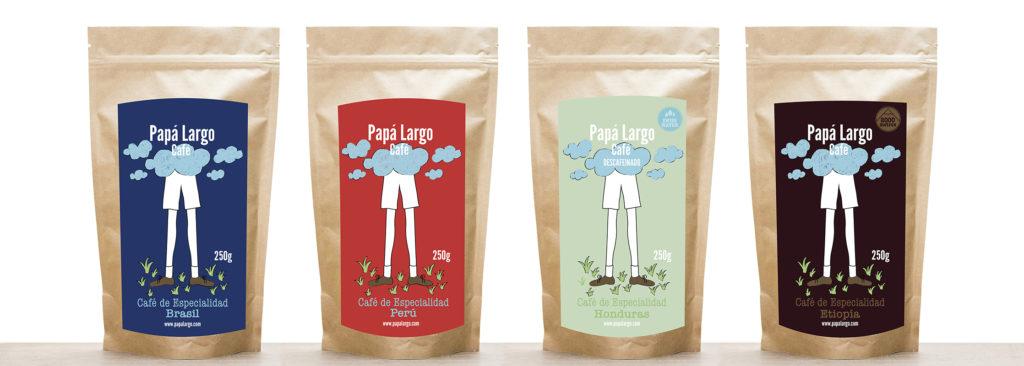 Variedades de café Papá Largo