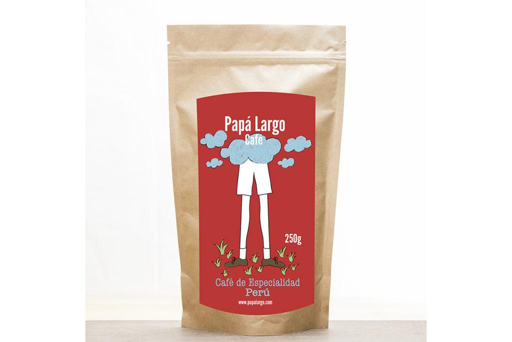 Café de especialidad Papá Largo de Perú