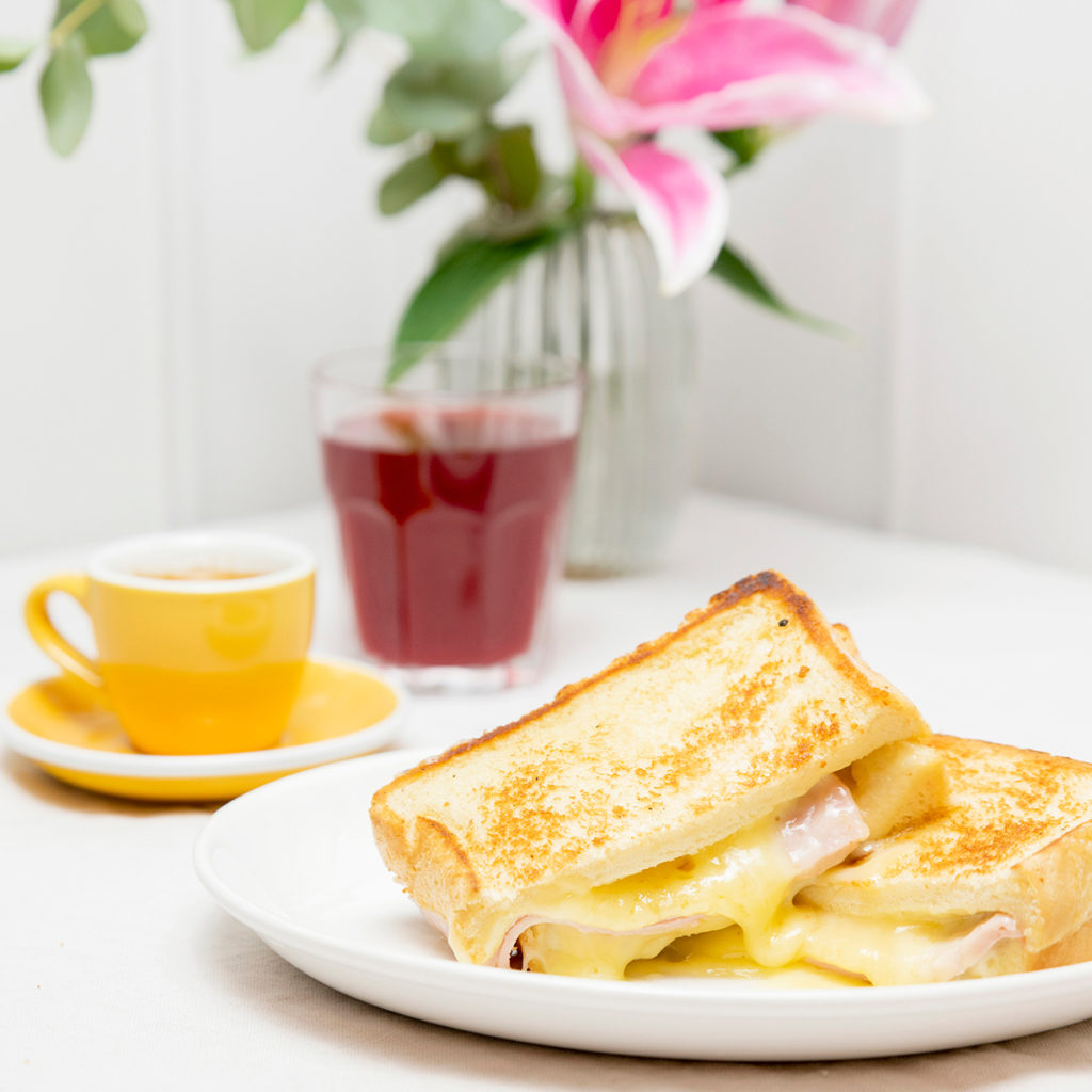 Menús de desayuno en Zaragoza Desayuno Sandwich mixto