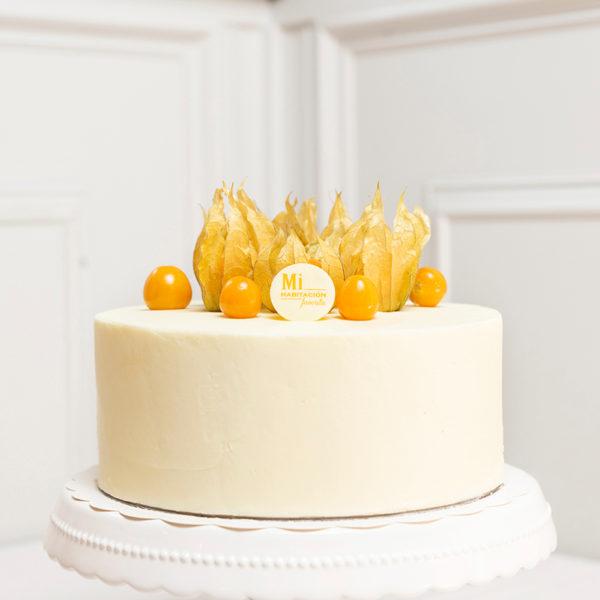 tarta blanca decoracion comunion