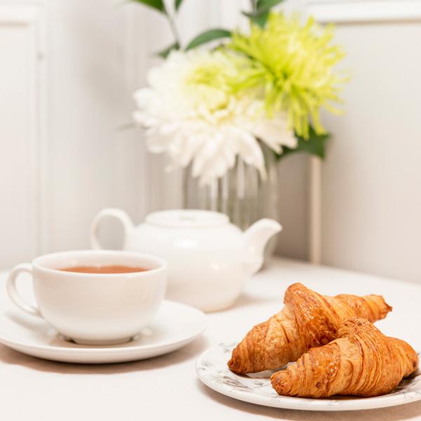 desayuno con croisan