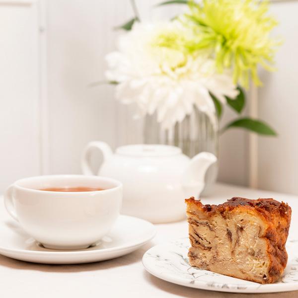 desayuno con pudding