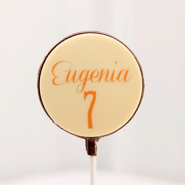 Piruletas de Chocolate eugenia 7