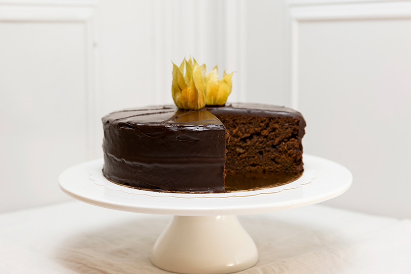 Tarta Sacher chocolate