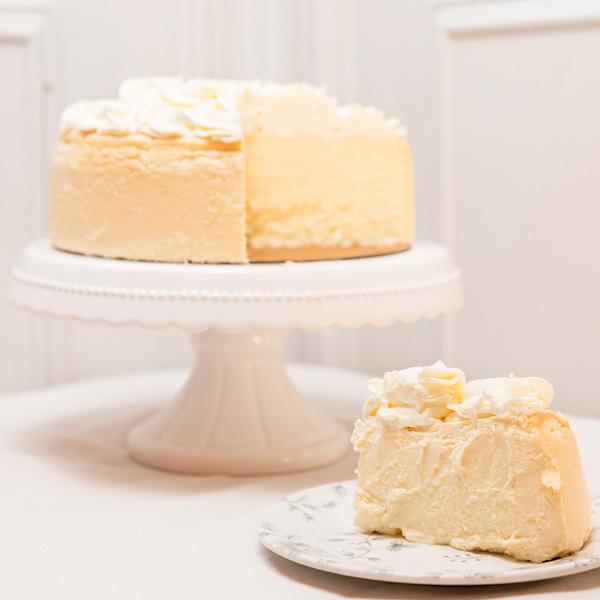 Tarta de queso de Limón sin gluten porcion
