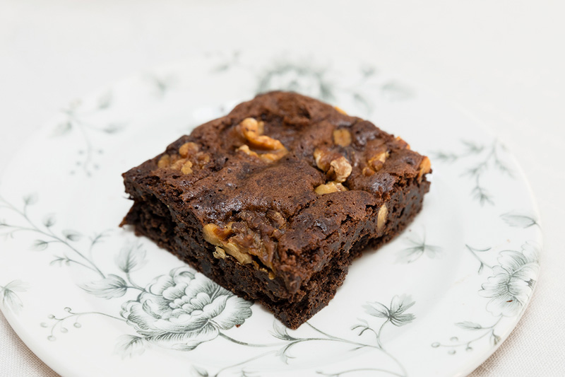 Postres Sin Gluten para Triunfar brownie de chocolate